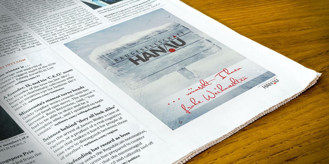 Baugesellschaft Hanau <br> Image-Kampagne