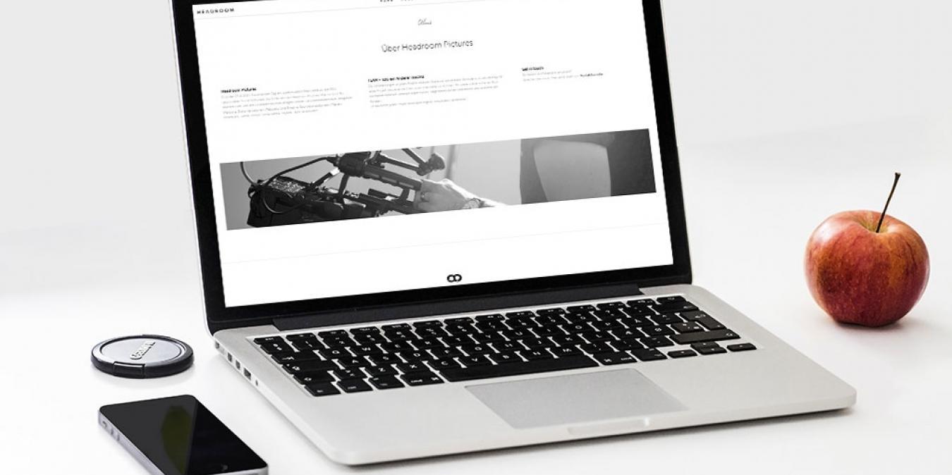 Headroom Pictures Filmproduktion <br> Re-Branding & Image
