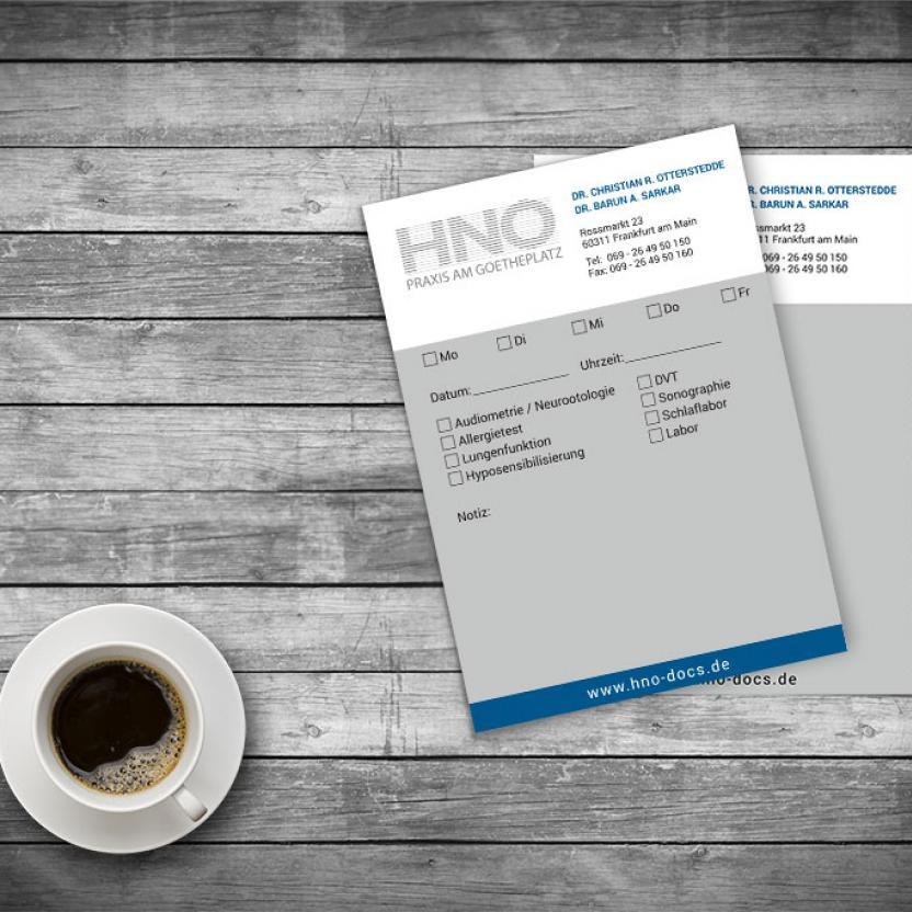 Notizzettel HNO-Docs