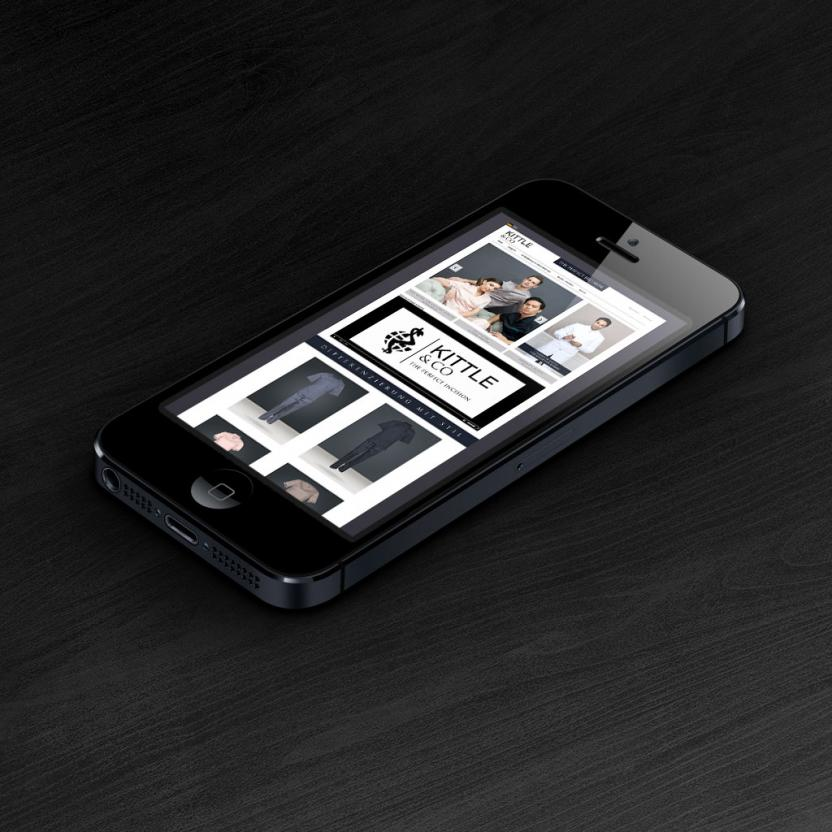 Website iPhone Kittle & Co