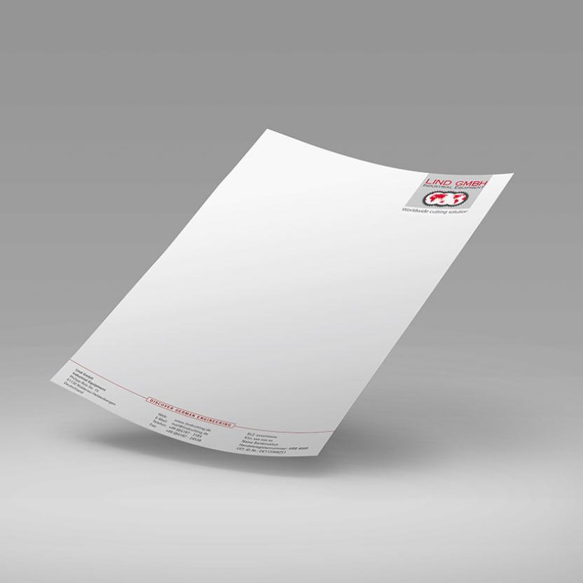 Lind Briefbogen