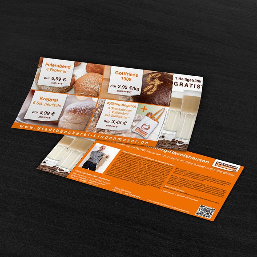 Stadtbäckerei Lindenmayer Kreppel-Flyer