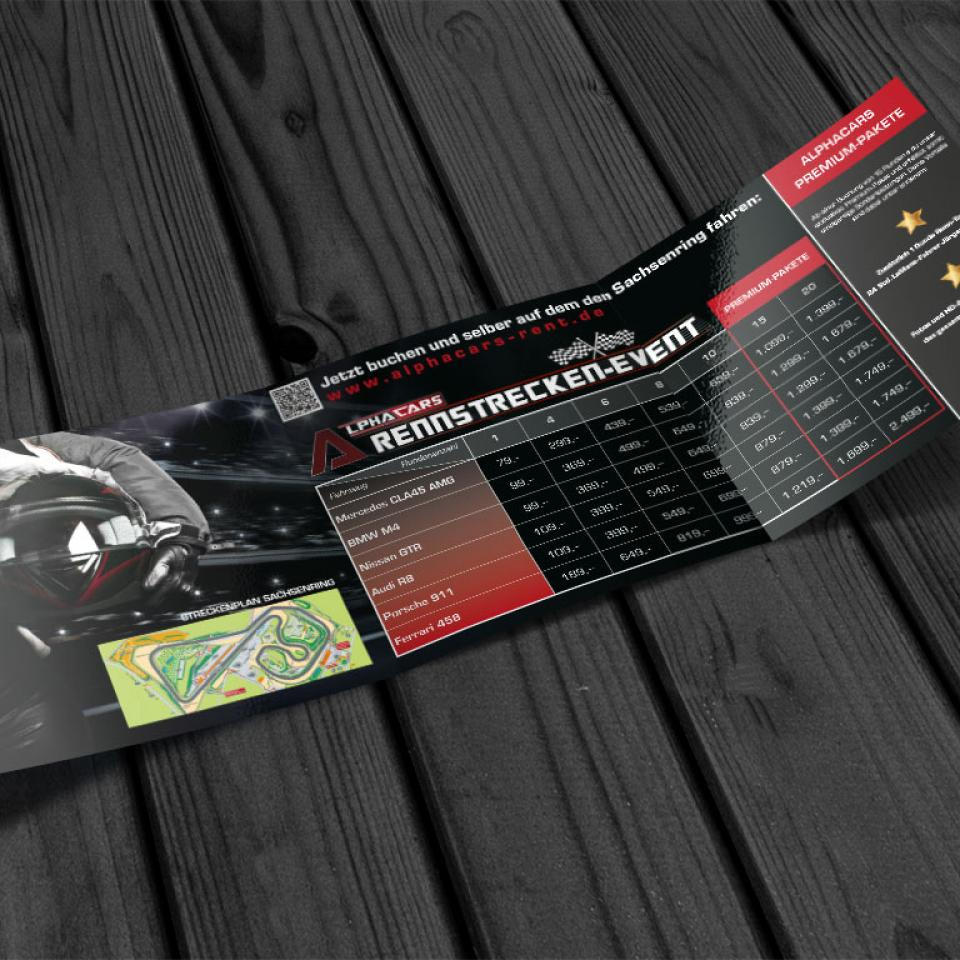Folder Rennsport-Event