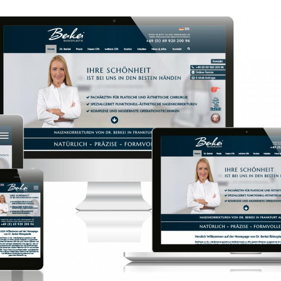Website Berkei Multiscreen