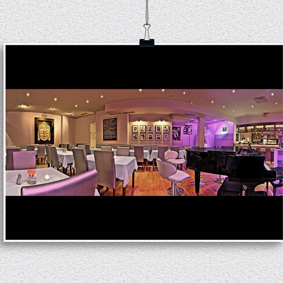Panorama-Fotografie Blueberry Hill