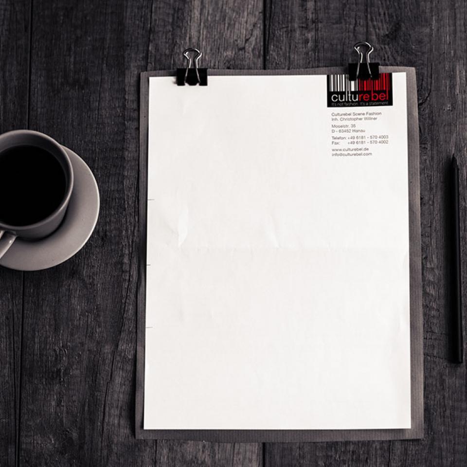 Briefpapier Culturebel