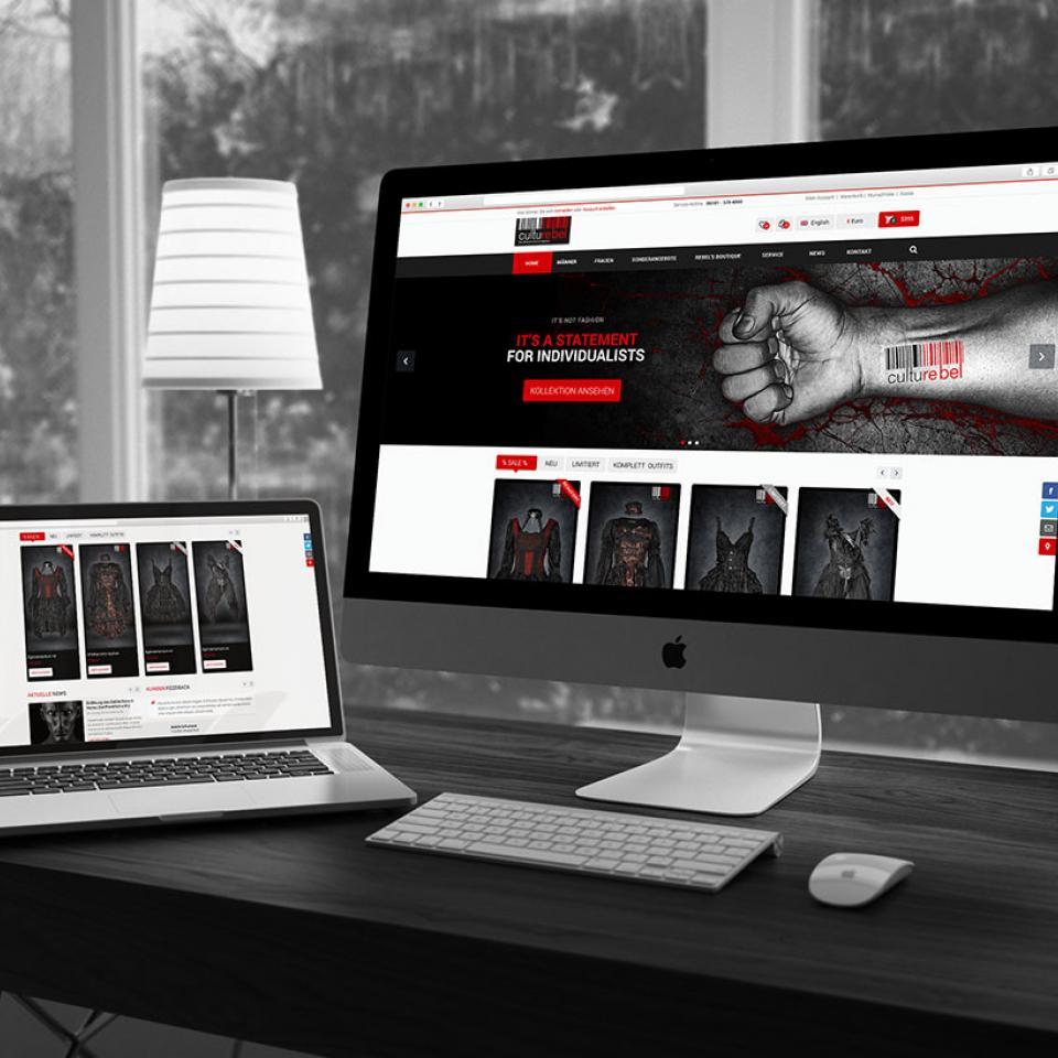 Website Desktop Culturebel