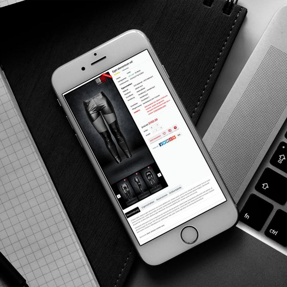 Website iPhone Culturebel