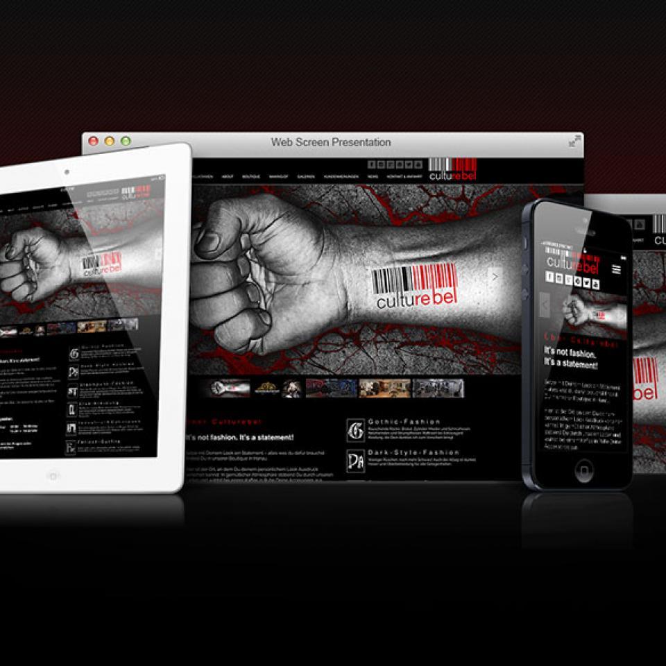 Website Multidevice Culturebel