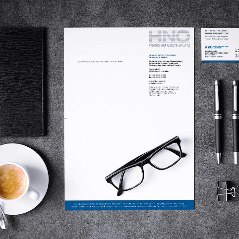 Geschäftsausstattung HNO-Docs