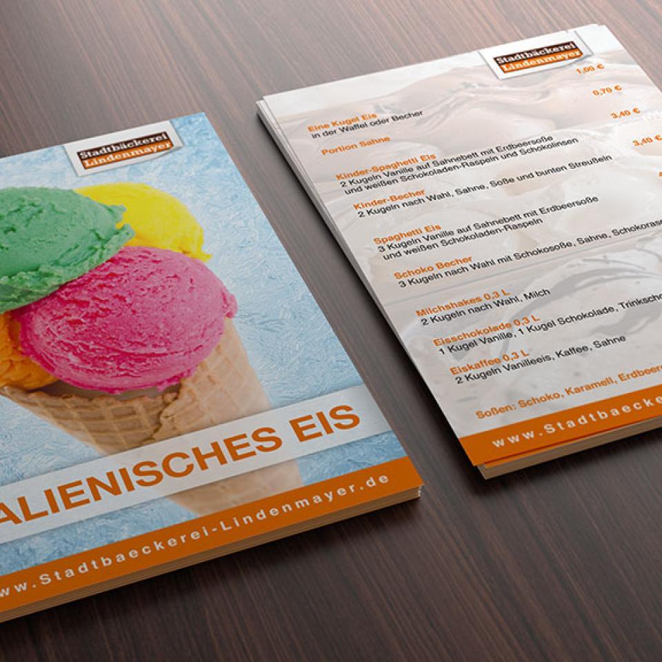 Stadtbäckerei Lindenmayer Postkarte
