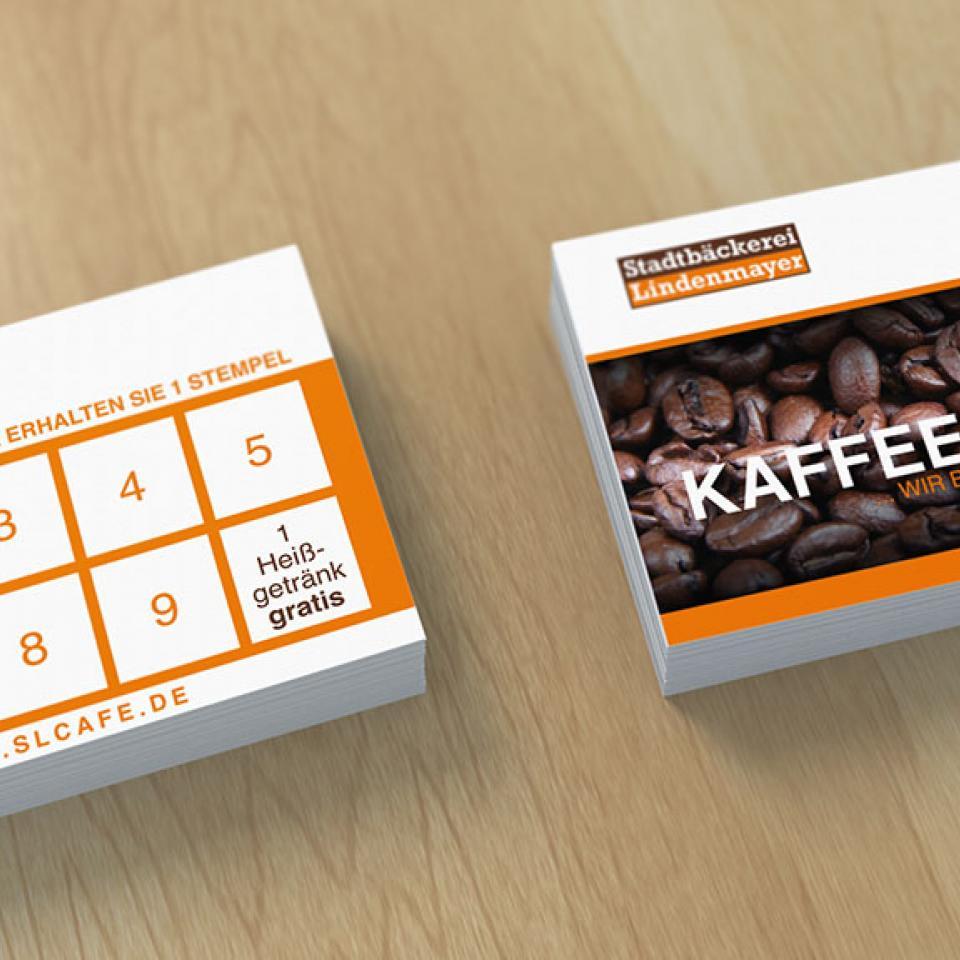 Stadtbäckerei Lindenmayer Kaffeekarten