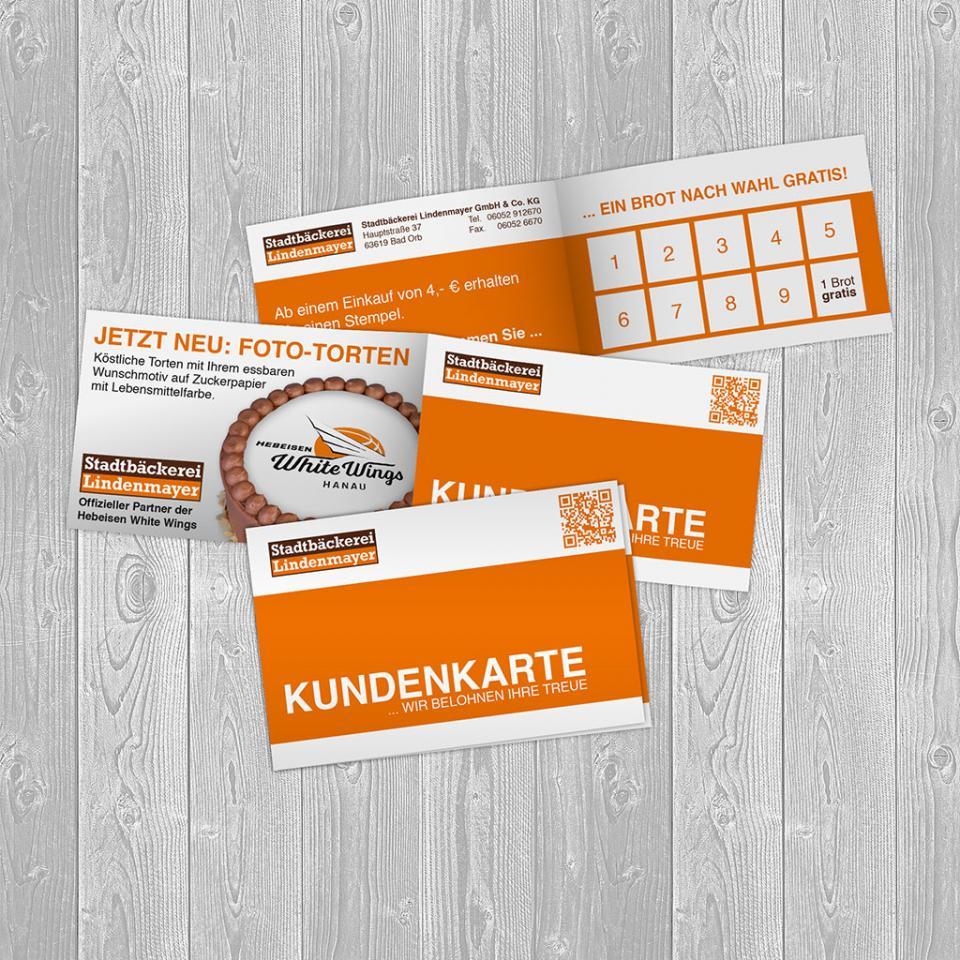 Stadtbäckerei Lindenmayer Kundenkarten