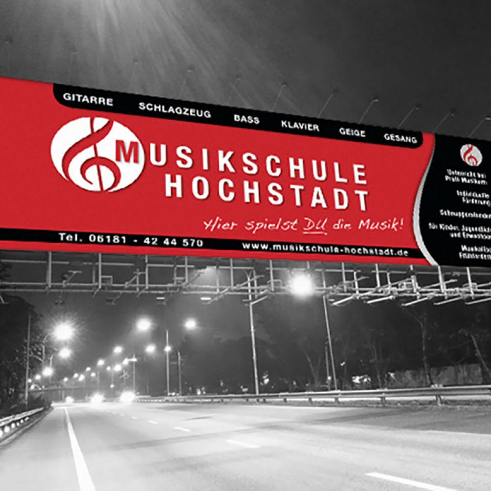 Musikschule Hochstadt Banner