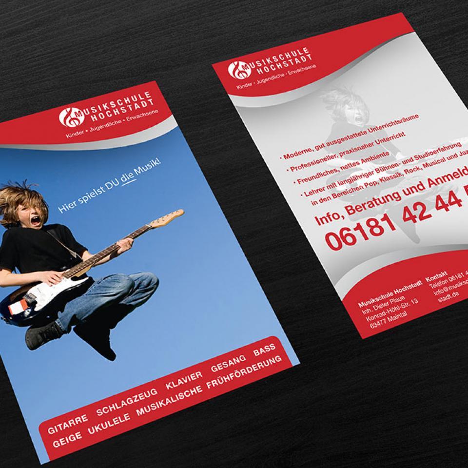 Musikschule Hochstadt Flyer