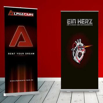 Alphacars - rent your dream <br> Start-up & Branding-Kampagne