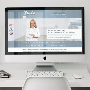 Dr. J. Berkei, Praxis für ästhetische Chirurgie <br> Communication- und Branding-Kampagne