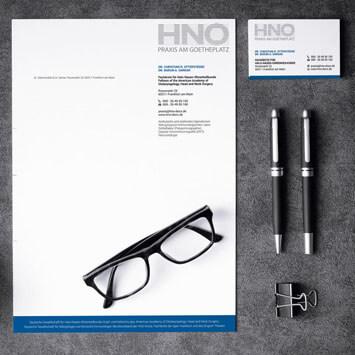 HNO-Praxis am Goetheplatz, Frankfurt  <br> Image- und Branding-Kampagne