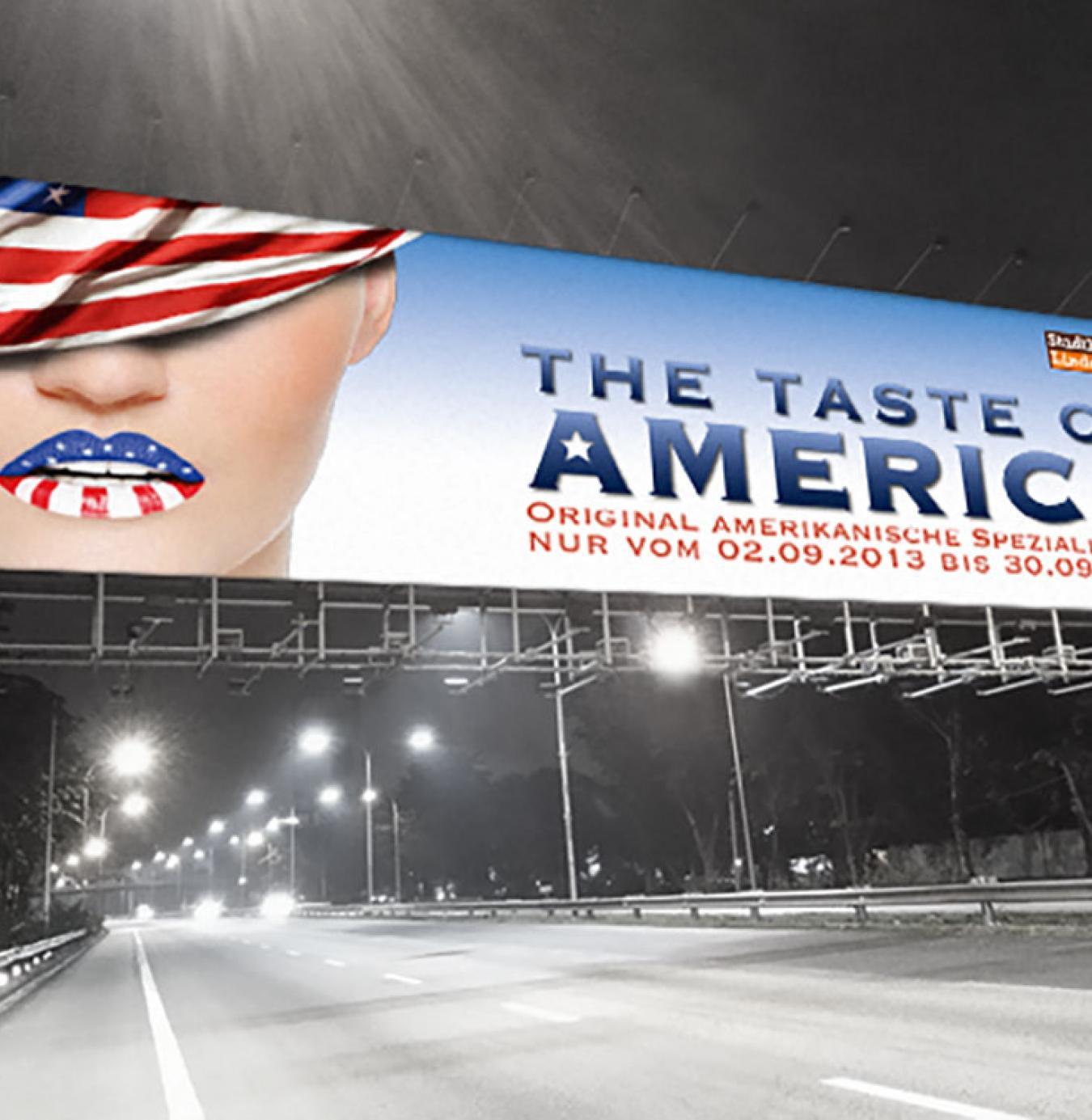 Amerikanische Wochen bei Lindenmayer <br> Image- und Sales-Kampagne